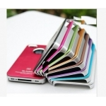 Air Jacket A4 Aluminium metal Hard cases Cover Skin for iphone 4