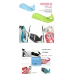 Whale Case With Stand Storage Function Silicon Cases for iPhone 5 5g