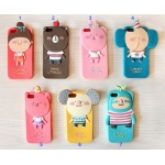MOMOs Blog 3D Cute Cartoon Silicone Soft Case Colorful Back Cover For Apple iPhone 5 5G
