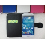 Credit Card Slot Wallet Flip PU Leather Case Pouch for Samsung Galaxy S4 i9500